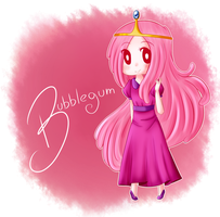 Princess Bubblegum by PkOrange