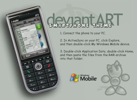 DeviantART Smartphone Theme by subcity