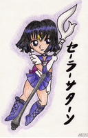 Chibi Sailor Saturn by augustanekochan
