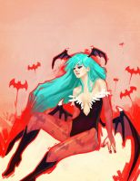 Darkstalkers Morrigan by 1022