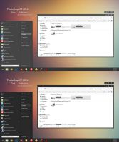Photoshop CC 2014 VS for Windows 7 by Liuxiaofei