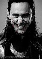 Vampire Loki by GeeFreak