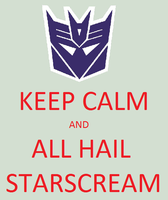 ALL HAIL STARSCREAM by TRANSFORMERSsting