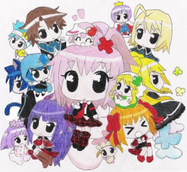 Shugo Chara Chibis by happily-random