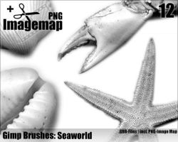 Seaworld Brushes - Gimp by ML-Worlds