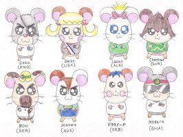 Hamtaro in World Cup 2010 II by macaustar
