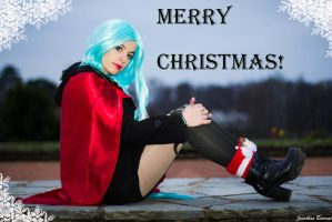 Cosplay Christmas Jinx League of Legend 02 by JonathDer