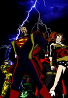 Dark Justice League by glovesker