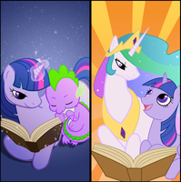 Reading is Magic by Kiniki-Chan