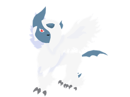 Mega Absol colored by PokemonBWishesCilan
