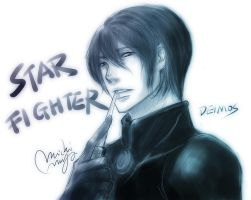 starfighter deimos by michivvya