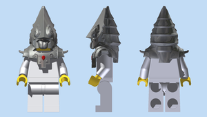 LEGO Zant Headpiece by mingles