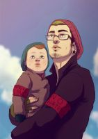 Steven and Zachary by andrahilde
