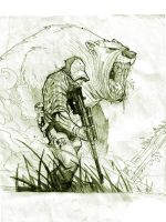 bear hunt by nefar007