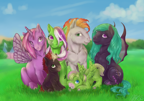 Family Portrait by Shaiyeh