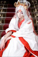 Princess Hinoto II by scentless-flower