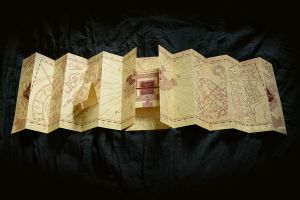 Marauder's Map Homemade Replica by Hairac