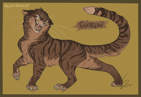 Warrior Cats - Tigerclaw by VanyCat