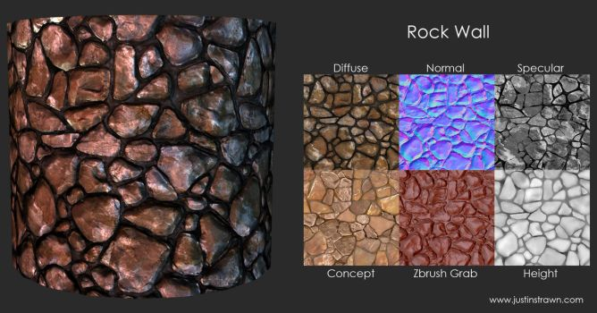 Rock Wall by JustinMs66