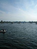 On the Charles River by GhostOnTheWall
