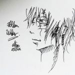 Quick sketch - Allen Walker by UnheardSalvation