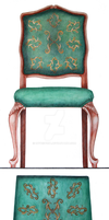 Chair tapestry by dovespirit