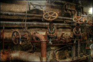 The old pipes by Chribba