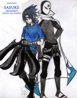 ::Arashi no sasuke:: by Stray-Ink92