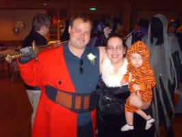 Auron, Lulu and...... Tigger? by SmallBell