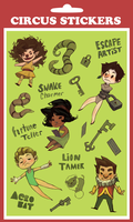 Lil' stickers by Leerer-Raum