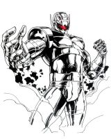 Heroes Con Ultron Sketch by RobertAtkins