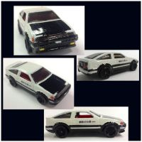 HW Custom- Initial D 4th Stage AE86 by CSX5344