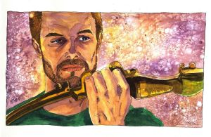 Amell Takes Up the Bow by Jerantino