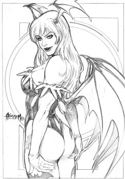 Morrigan by Alissonart