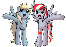 Ploxy And Gray Crest By Midnameowfries-d6gj4kd by SMG-73