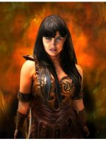Kelly Xena Mitchell     Cosplay by cautionstudio