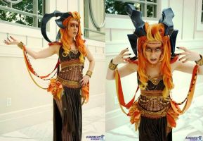 Aeon Ifrit - Original Design by Kudrel-Cosplay