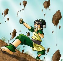Toph is Tough by BehindtheVeil