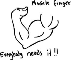 MuscleFinger by KRIzzI-ghost