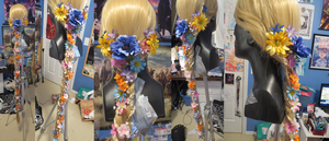 Rapunzel wig is finished by Catchmewithyourlips