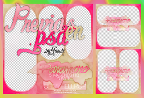 .+ Pack Previas en .PSD #1 by USucks