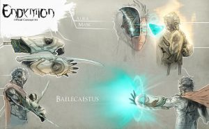 Concept - Endymion, Gear by AenTheArtist