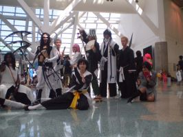 AX: Another Bleach Pose by YaXXoi