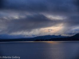 East Shore storm, Lake Tahoe by MartinGollery