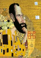 Gustav Klimt by manohead