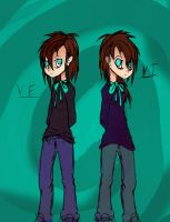 The Twins: VE and VI by BeyondYou13