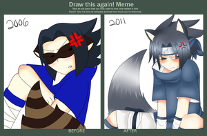 Before and After Meme by ChibiForte101