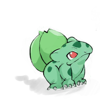 Bulbasaur by Inukosama