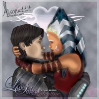 Star Wars Valentine-contest entry by Ahsoka114