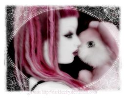 .::BUNNY PINK::. by darkbecky